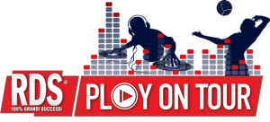 Logo RDS Play On Tour