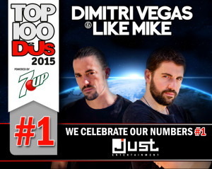 Dimitri Vegas & Like Mike top djs