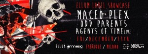 11 dicembre Amnesia Milano, Loud&Contact e Sincronie presentano Ellum Audio Label Showcase