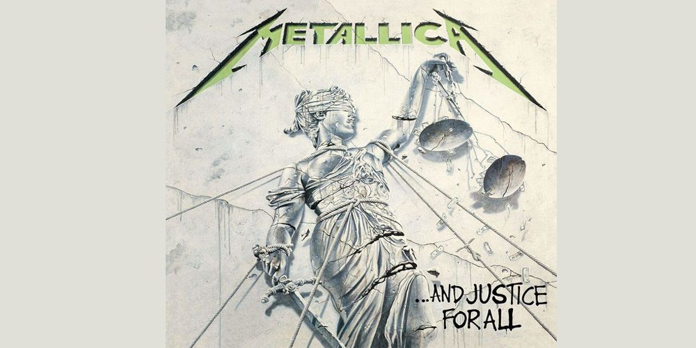 Metallica - And Justice for All cover cd