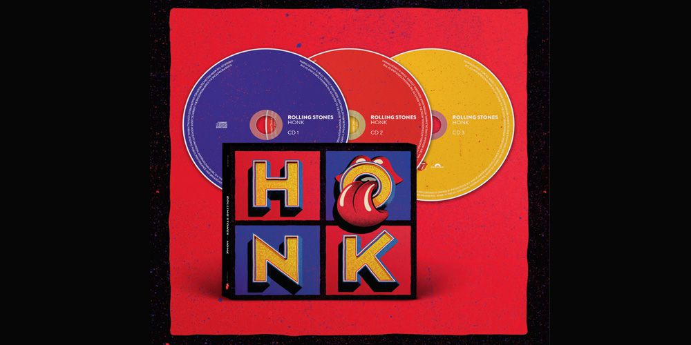 The Rolling Stones - Honk cd