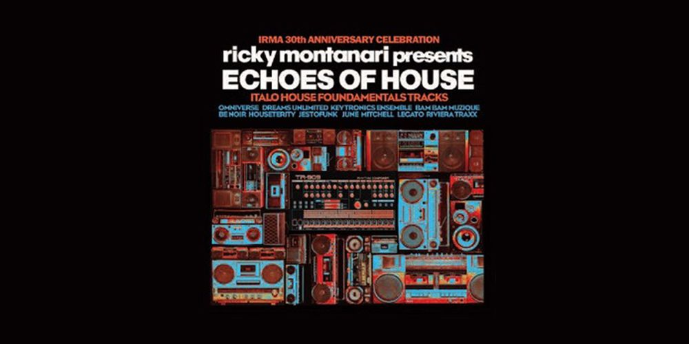 Ricky Montanari - Echoes of House cover cd