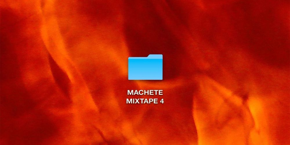 Machete Mixtape 4 cover