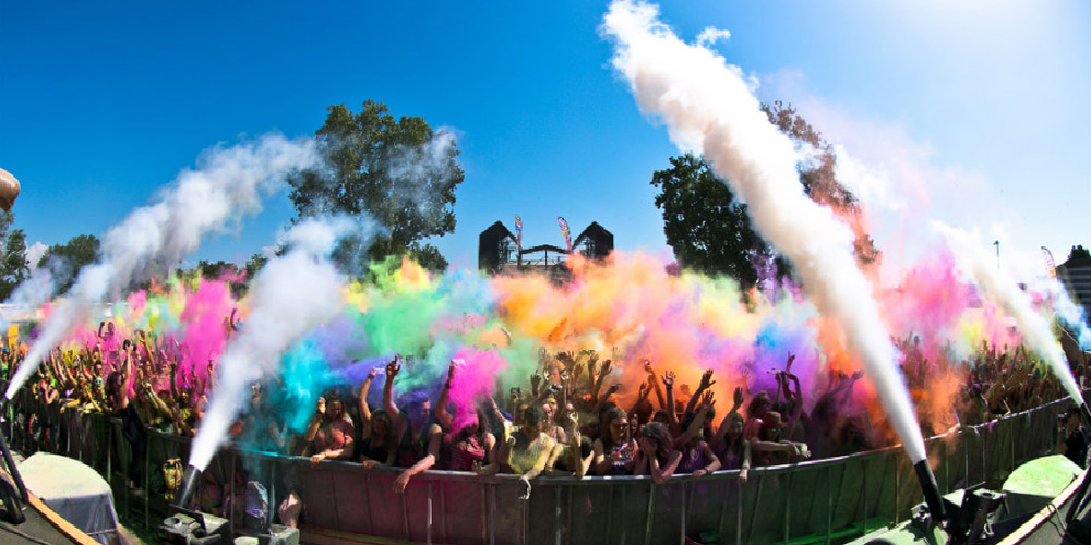 Holi Dance Festival Color Experience eventi