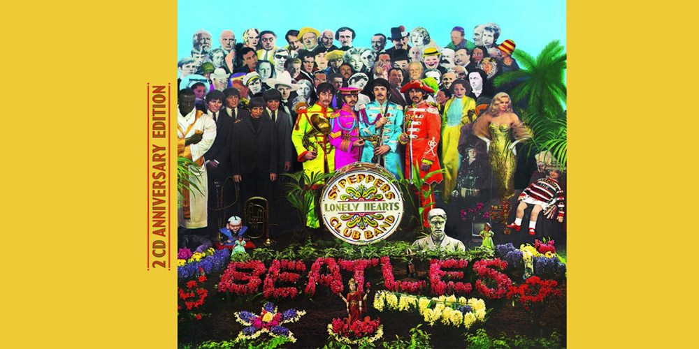 Beatles - Sgt. Pepper's Lonely Hearts Club Band (50th Anniversary Deluxe Edition) cover