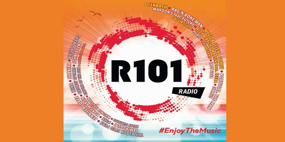 Radio 101 - Enjoy The Music 2017 cover