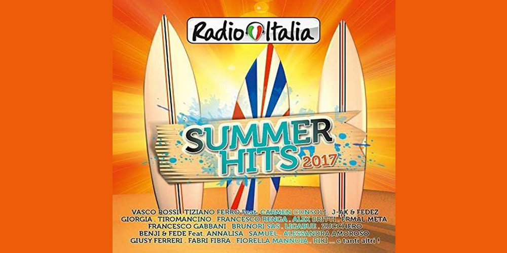 Radio Italia Summer Hits 2017 cover