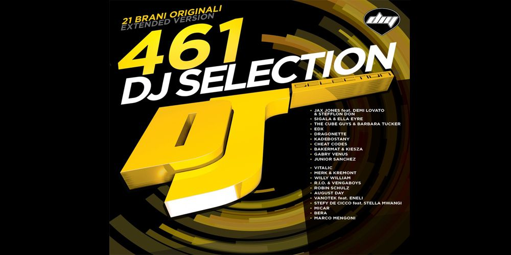 Dj Selection 461 cover cd