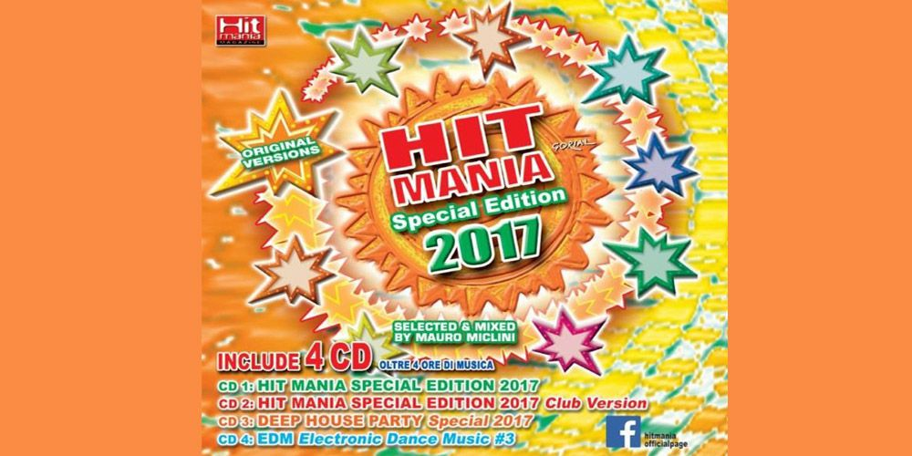 Hit Mania Special Edition 2017 cover cd