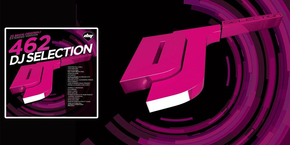 DJ Selection 462 cover cd