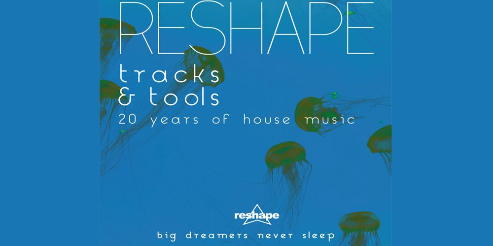 Reshape Tracks e Tools - 20 Years of House Music cover cd