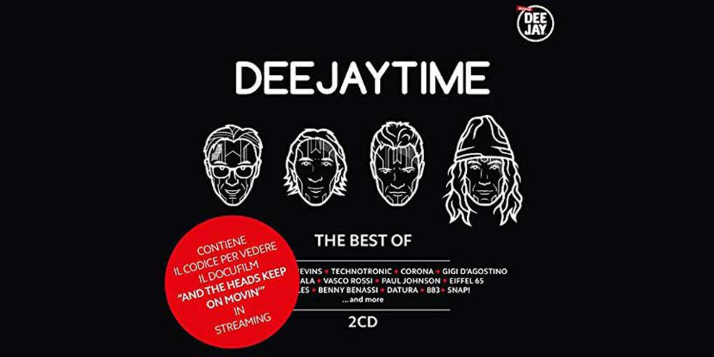 Deejay Time The Best of cover cd