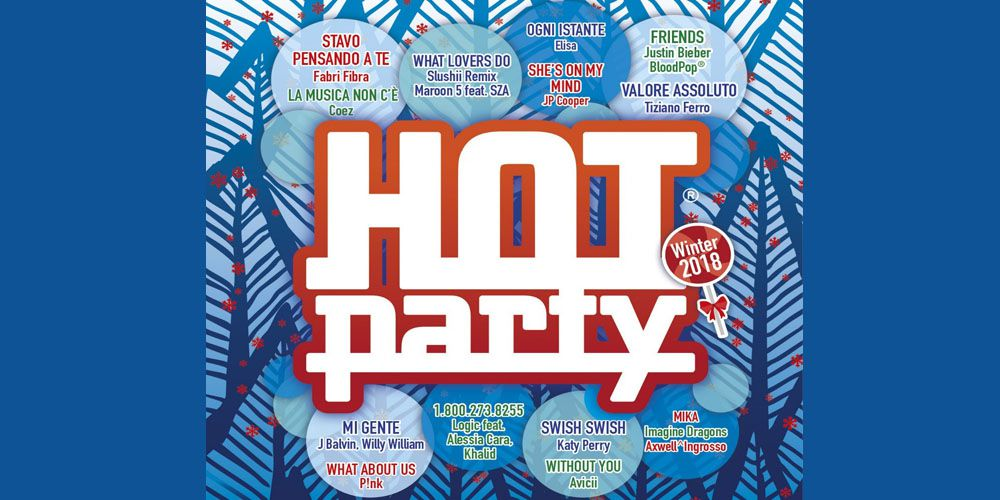 Hot Party Winter 2018 cover cd