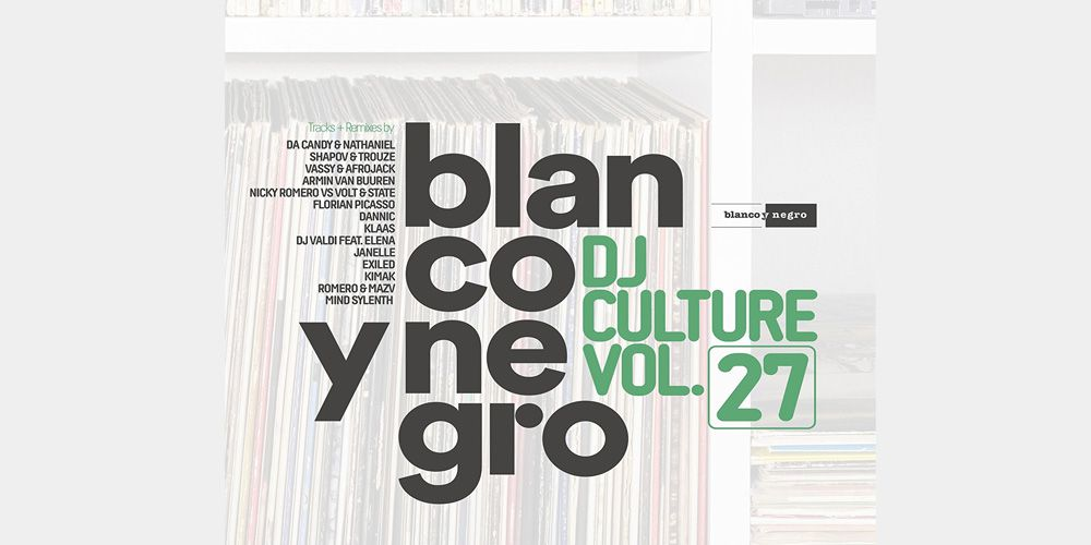 Blanco y Negro - Dj Culture vol. 27 cover cd