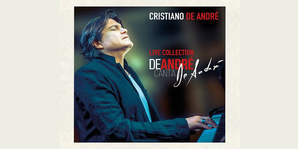 De André canta De André Live Collection cover cd
