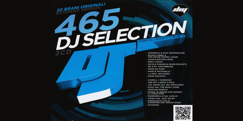 DJ Selection 465 cover cd