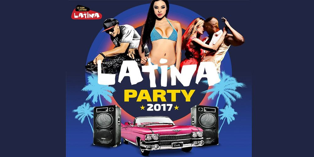 Latina Party 2017 cover cd