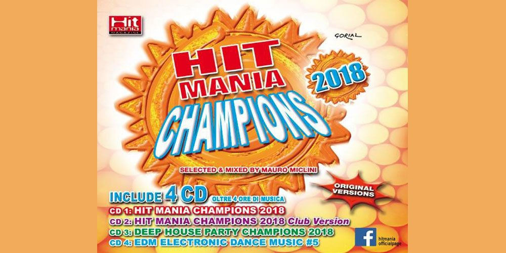 Hit Mania Champions 2018 cover cd