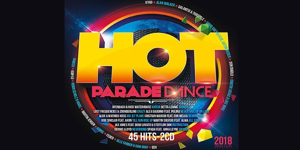 Hot Parade Dance Winter 2018 cover cd