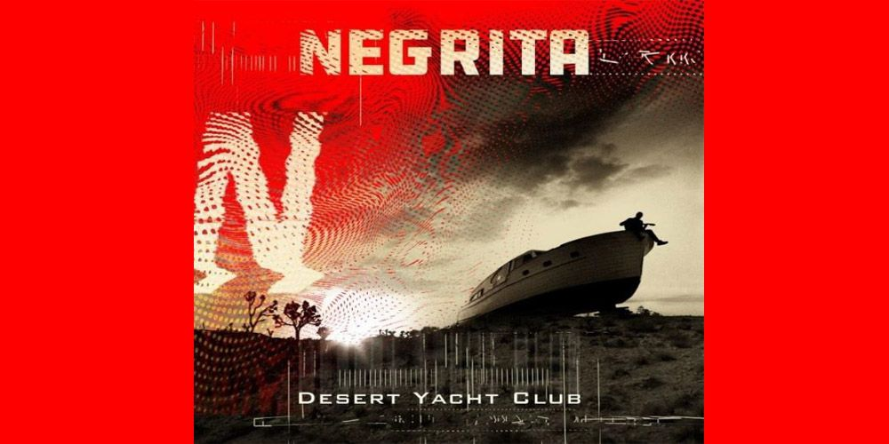 Negrita - Desert Yacht Club cover cd