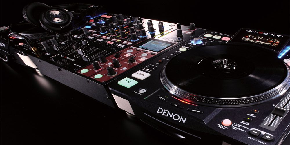 House music mixer denon