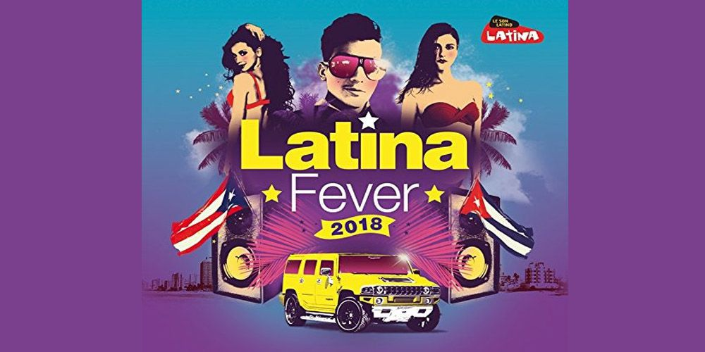 Latina Fever 2018 cover cd