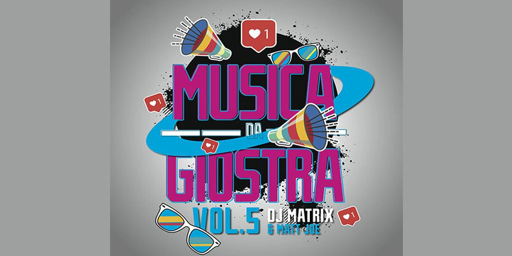 Musica da giostra vol 5 - Dj Matrix & Matt Joe cover cd
