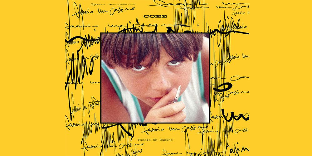 Coez - Faccio un casino (Yellow Vinyl LTD Edition) cover cd