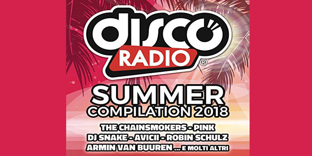 Disco Radio Summer compilation 2018 cover