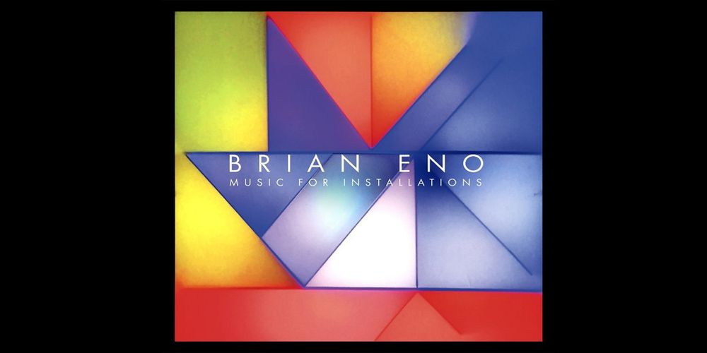 Brian Eno - Music for Installations cover cd