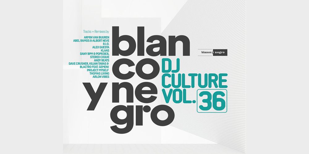 Blanco Y Negro Dj Culture Vol 36 cover cd