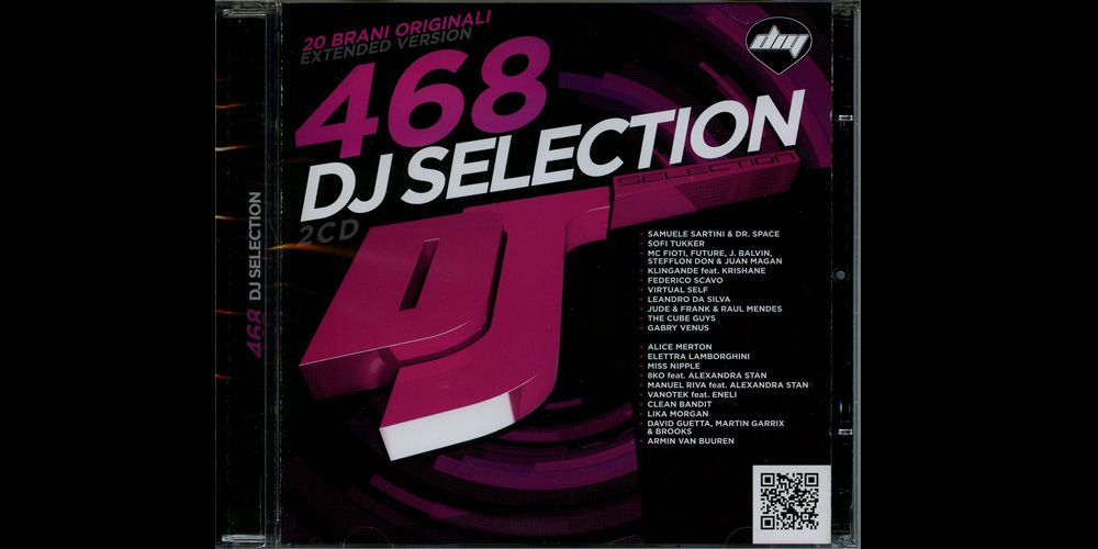 DJ Selection 468 cover cd
