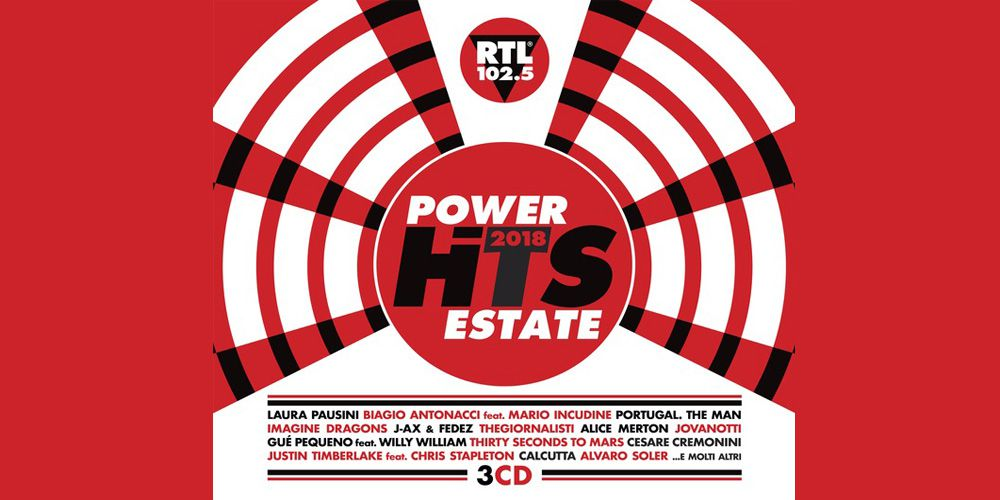 Power Hits Estate 2018 cover cd