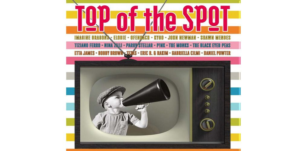 Top of the Spot 2018 cover cd