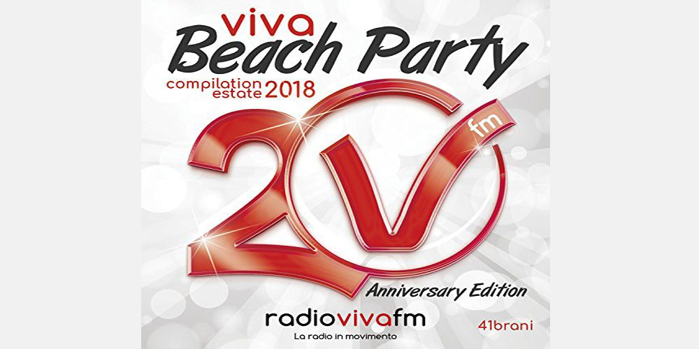 Viva Beach Party Compilation estate 2018 cover cd