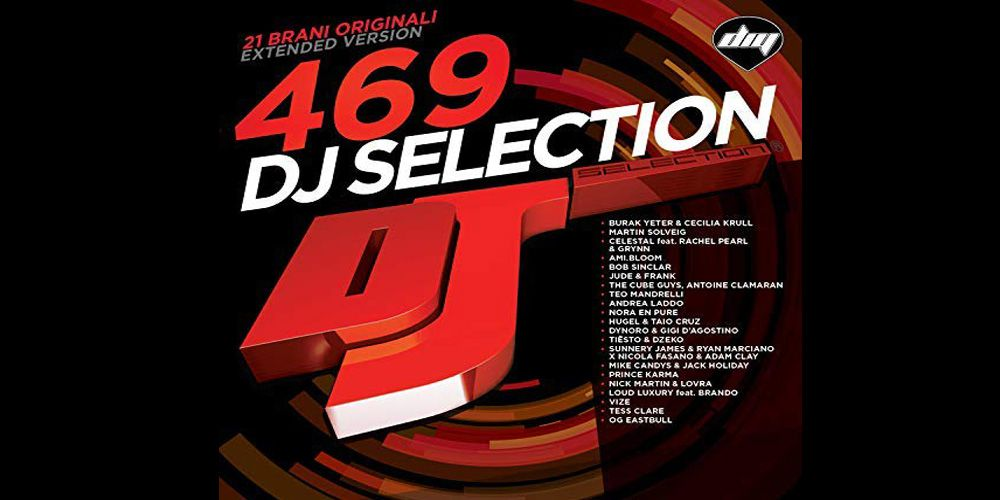 DJ Selection 469 cover cd