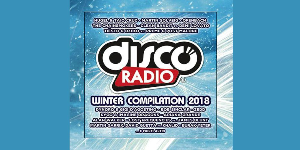Discoradio Winter compilation 2018 cover cd