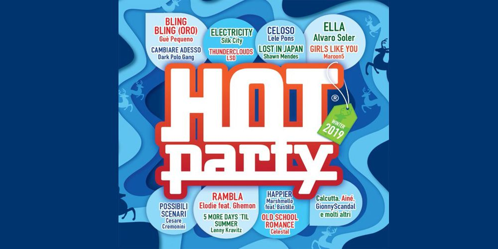 Hot Party Winter 2019 cd