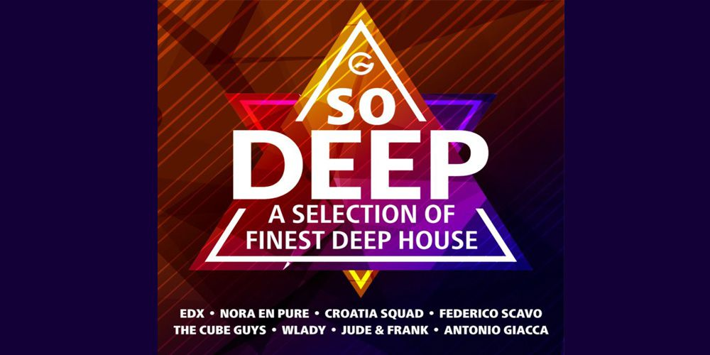 So Deep – A Selection of Finest Deep House cover cd