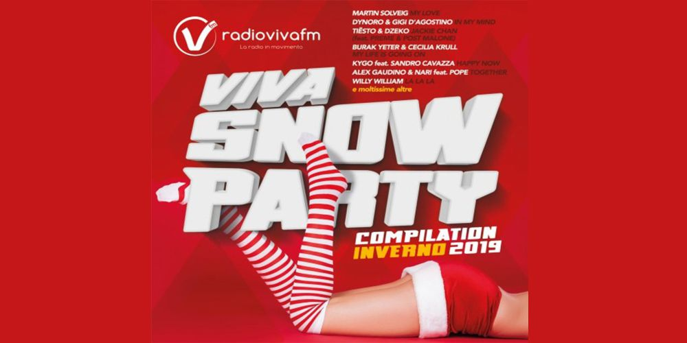 Viva Snow Party Compliation inverno 2019 cover cd