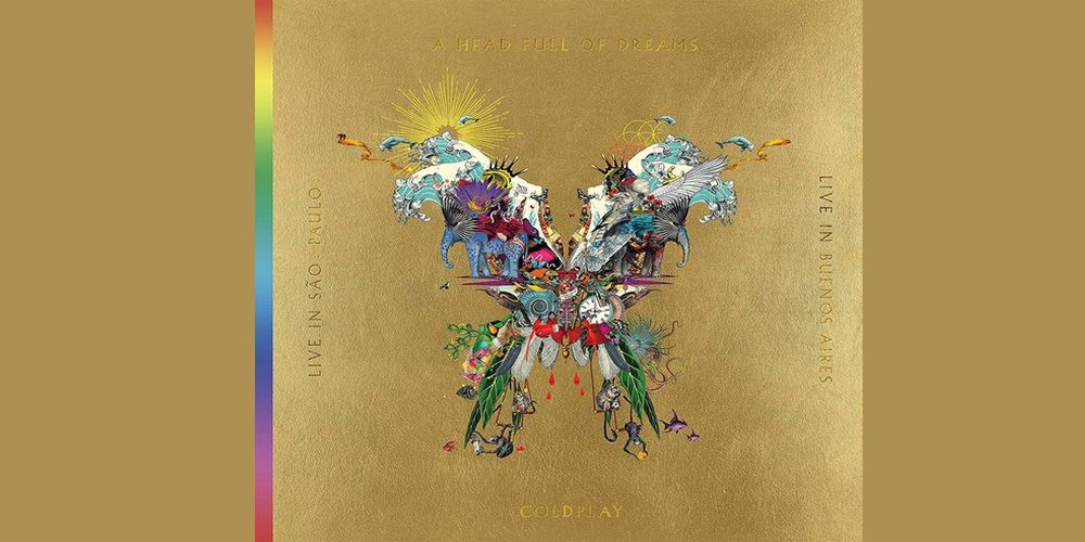 Coldplay - Live in Buenos Aires / Live in Sao Paolo cover cd