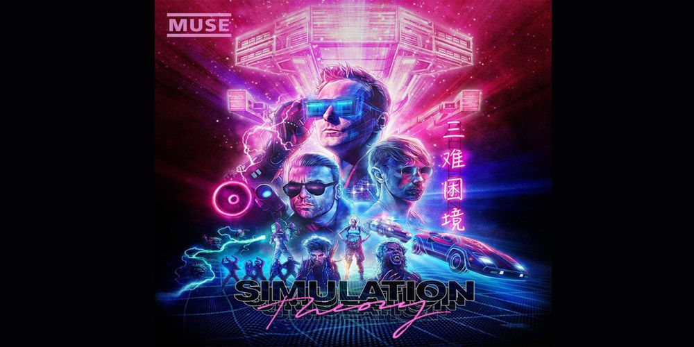 Muse - Simulation Theory cover cd