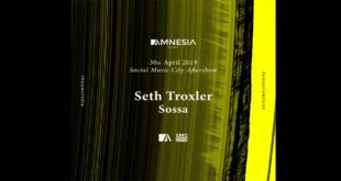 30 aprile Social Music City Official Aftershow all'Amnesia Milano