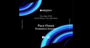 22 giugno Social Music City official aftershow all'Amnesia Milano