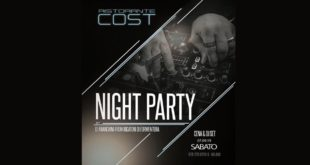 Cost Milano: 7 settembre Cena & Night Party con Dj Franchini (Rigatoni Formentera)