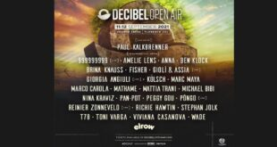 Decibel Open Air 2021 annuncia la sua line up completa
